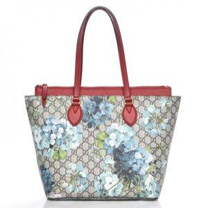 Authentic GUCCI Gg Supreme Blue Blooms bag